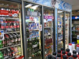Capitola Shell freezer case