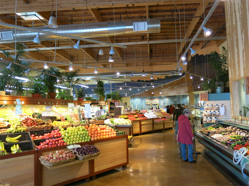 New Leaf Community Market Westside Santa Cruz Ca. Improves Store with LED Lighting - Santa Cruz LED Resource Guide & New Leaf Community Market Westside Santa Cruz Ca. Improves Store ...